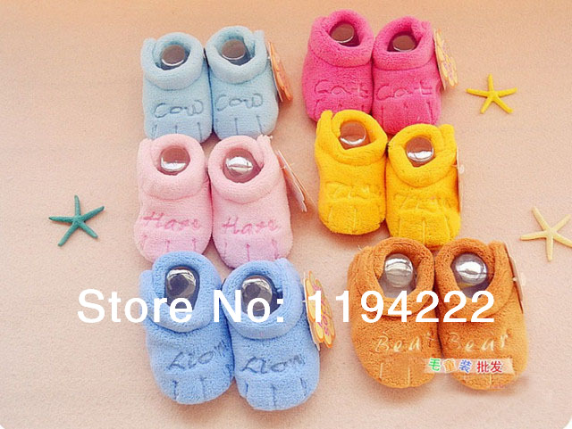 Baby first walkers soft warm toddler shoes Spring & Autumn - Summer's Leisure Shop store