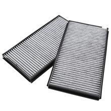2pcs Cabin Air Pollen Filter Microfilter For BMW 5 Series E60 E61 M5 525i 530i 535i(China (Mainland))