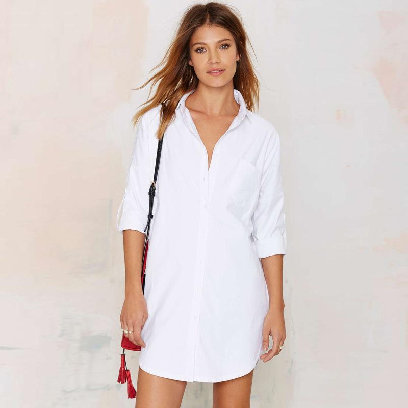 White Dress Blouses - Blouses All Here