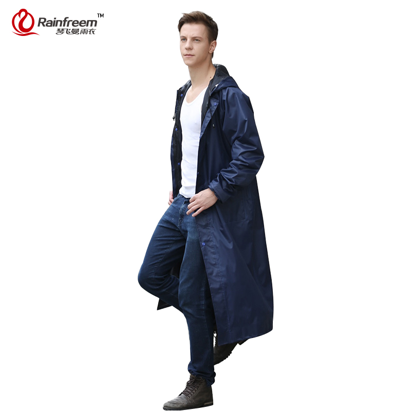 Rainfreem Impermeable Raincoat Women&Men Waterproof Trench Coat Poncho Single-layer Rain Coat Women Rainwear Rain Gear Poncho(China (Mainland))