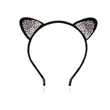 Buy M MISM Girls Cat Ears Hairband Stylish Women Rhinestone Headband Sexy Hair Band Accessories Headwear Cartoon Hair Hoop for $1.37 in AliExpress store