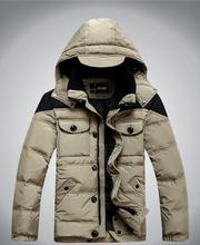 Free Shipping 2014 new men's winter clothes Down genuine duck down jacket men clothing men's jackets M-3XL