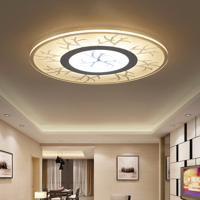 plafondverlichting led opbouw modern ceiling lights for living room bedroom led dimming ceiling lamp fixture luminaria teto(China (Mainland))