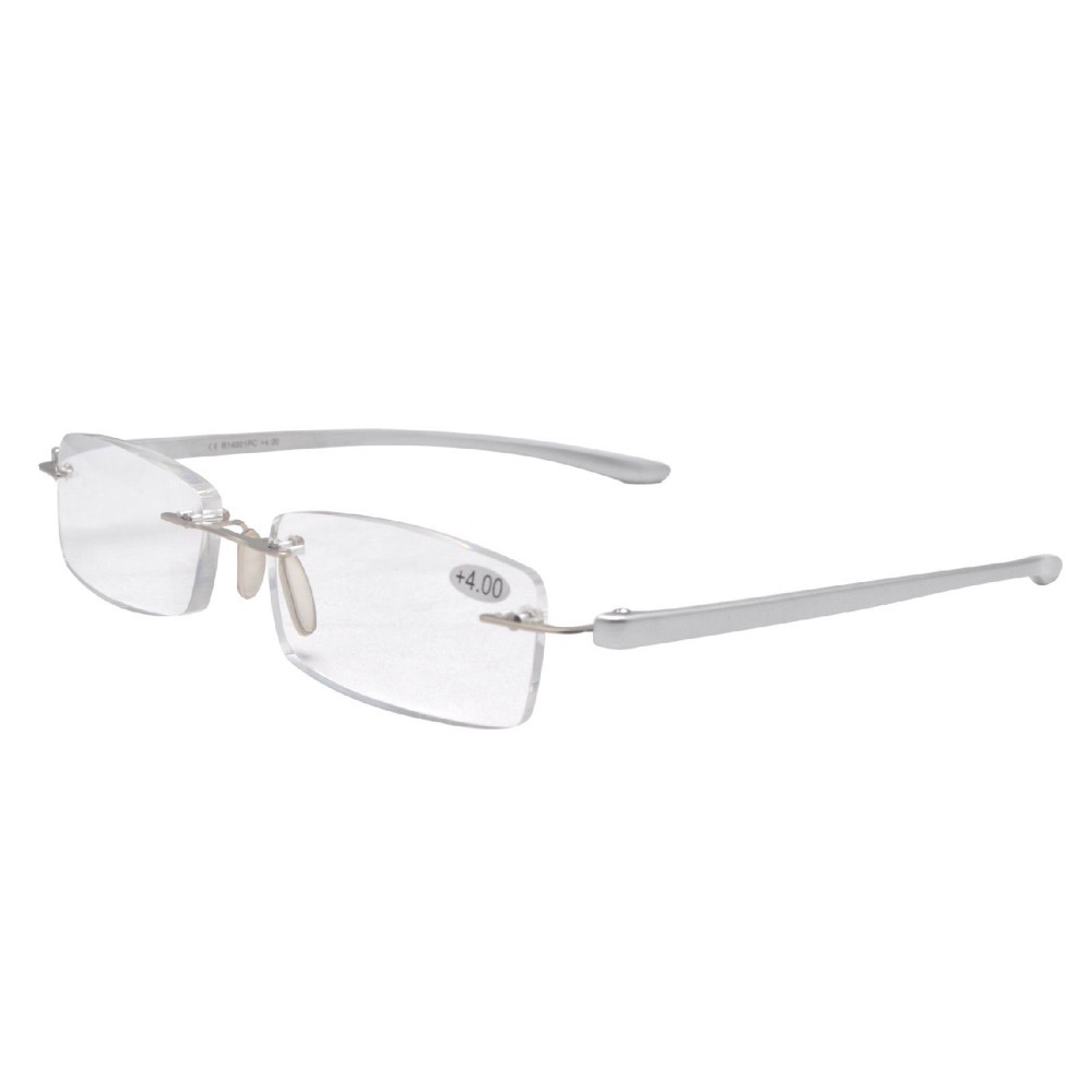Rimless Glasses Trend : Aliexpress.com : Buy R14001 Silver Rimless Fashion ...