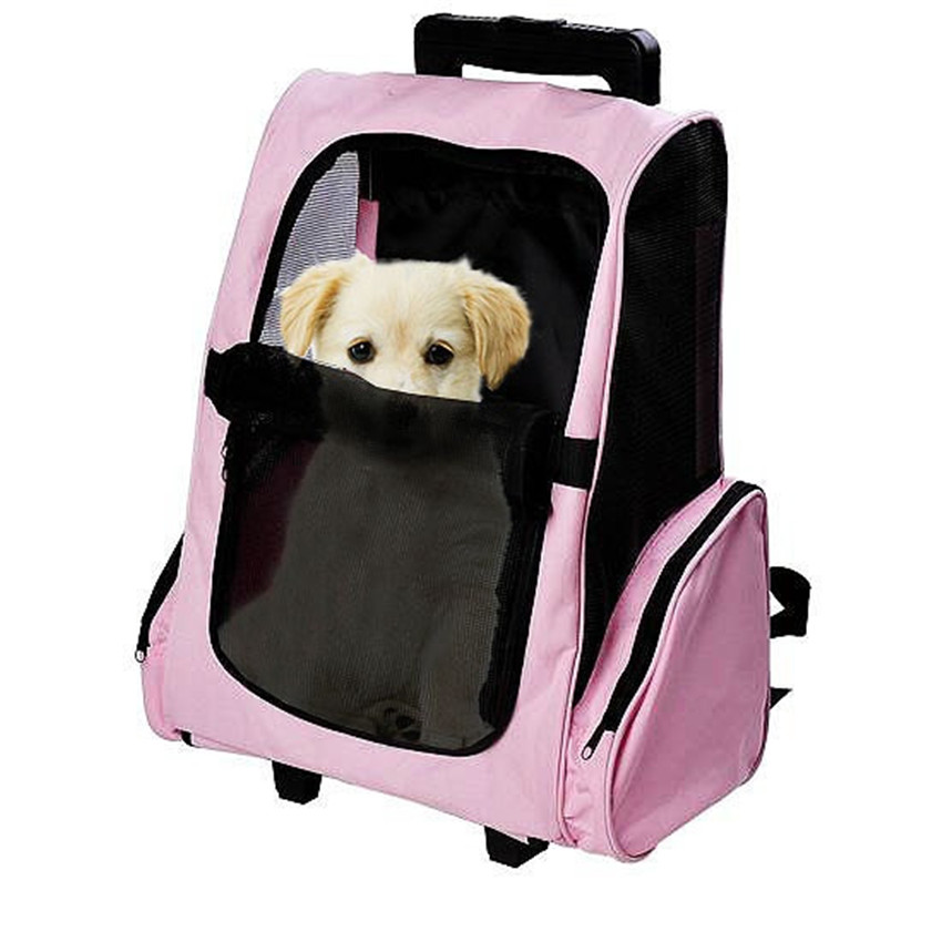 popular dog carriers with wheels buy cheap dog carriers with wheels lots from china dog carriers. Black Bedroom Furniture Sets. Home Design Ideas