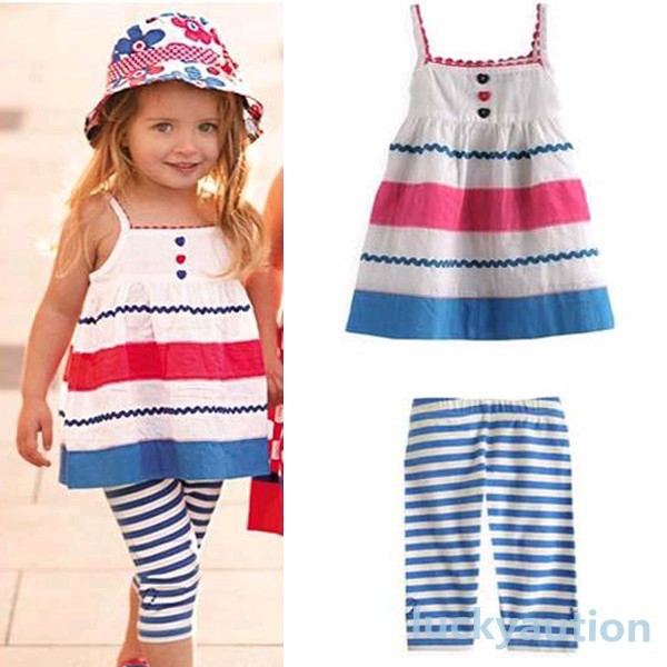 Комплект одежды для девочек Unbrand + 2 2/7 Kids Girls Sets платье для девочек unbrand baby v 2 6 kids dress