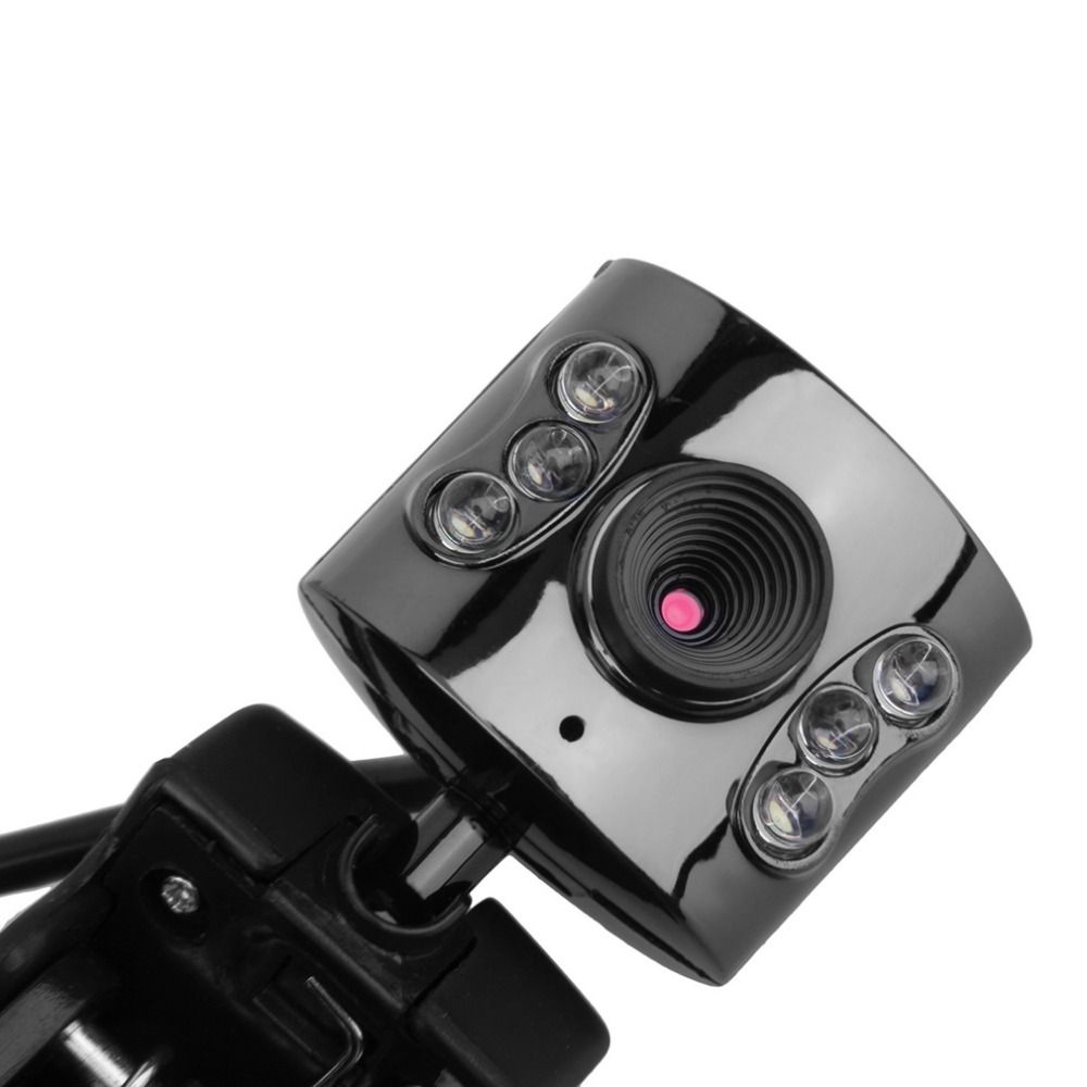 2016 Hot Sale USB 5Mega Pixel 6LED HD Webcam Camera With Microphone Mic For PC Laptop Worldwide Hot Drop(China (Mainland))