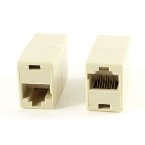 WSFS Wholesale 2 X 10 Pcs RJ45 8P8C Double Ports Female Plug Telephone Connector<br><br>Aliexpress