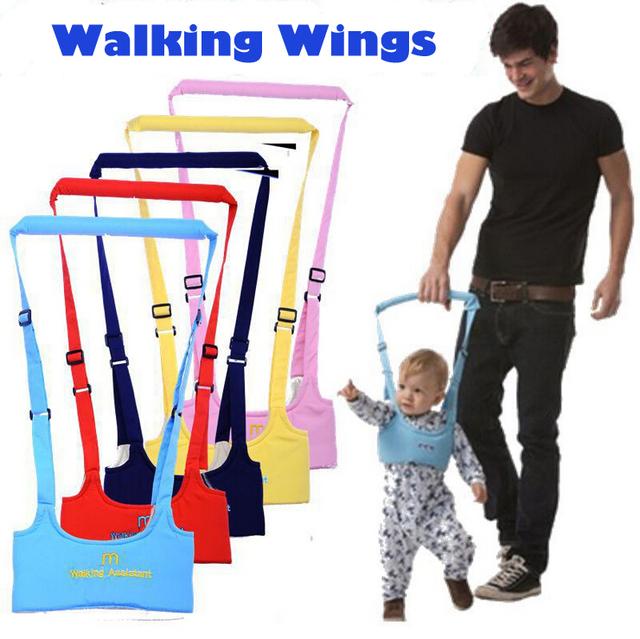 Безопасности жгутов 1 шт. хранителя малыша обучения прогулки помощник помощь ходунки регулируемый ремень 6-24Months YYT174