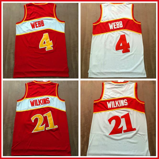 Dominique Wilkins Basketball Jerseys , Cheap Retro Basketball Jerseys