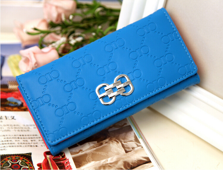 Fashion soft candy color  leather  hasp wallet  coin purse cards  organize holder clutch  lady mobile bag<br><br>Aliexpress