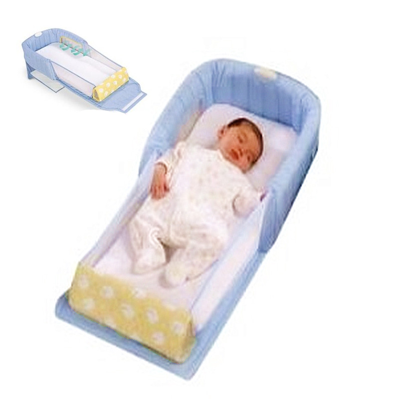 Baby's Folding Bed : Baby Beds Protable Multi function Folding Bed Baby Cot 2 in 1 Baby ...