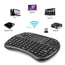 Mini 2.4G Wireless I8 Fly Air Mouse Russian/Hebrew/Arabic/English/Spanish/Italian Keyboard For Laptop Tablet Pad Tv Box(China (Mainland))