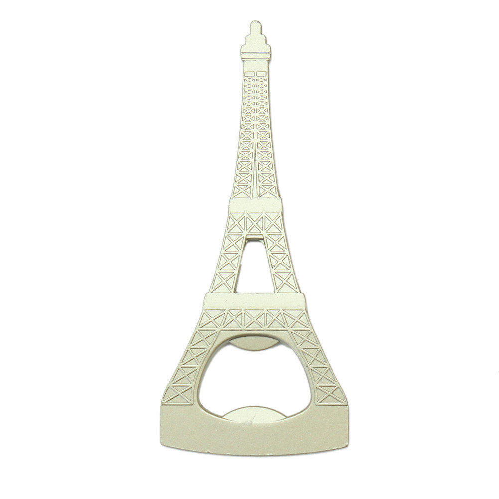 2016 New Creative Eiffel Tower Shape Metal Bottle Opener Soda Beer Bottles Cap Openers Kitchen Bar Tools(China (Mainland))