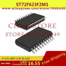 Diy Electronic ST72F623F2M1 IC MCU 8BIT LS 8K 20-SOIC 72F623 ST72F623 - Chips Store store