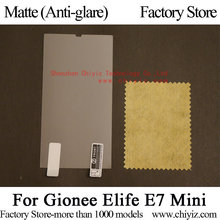 Matte Anti-glare Screen Protector Guard Cover protective Film For Gionee Elife E7 Mini / Gionee E7 Mini