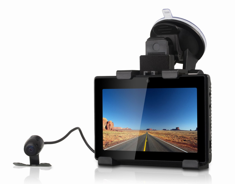 """3 IN 1 Dual Lens Car DVR Camera Tablet GD001 Car Dash Cam with HD 1080P & 5"""" Touch Screen + GPS Navigation + Android Tablet(China (Mainland))"""