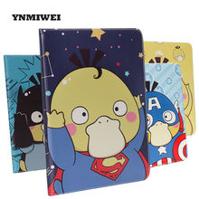 Buy ipad Pro 9.7 Inch Fashion PU Leather Tablet Cases Protective Pda Shell Sleep Function Anime Cartoon Ipad Series YNMIWEI for $13.52 in AliExpress store