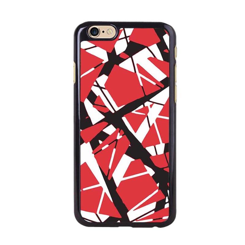Eddie Van Halen Graphic Guitar Design Custom Hard Plastic Case for iPhone 4 4s 5 5s 5C 6 6Plus(China (Mainland))
