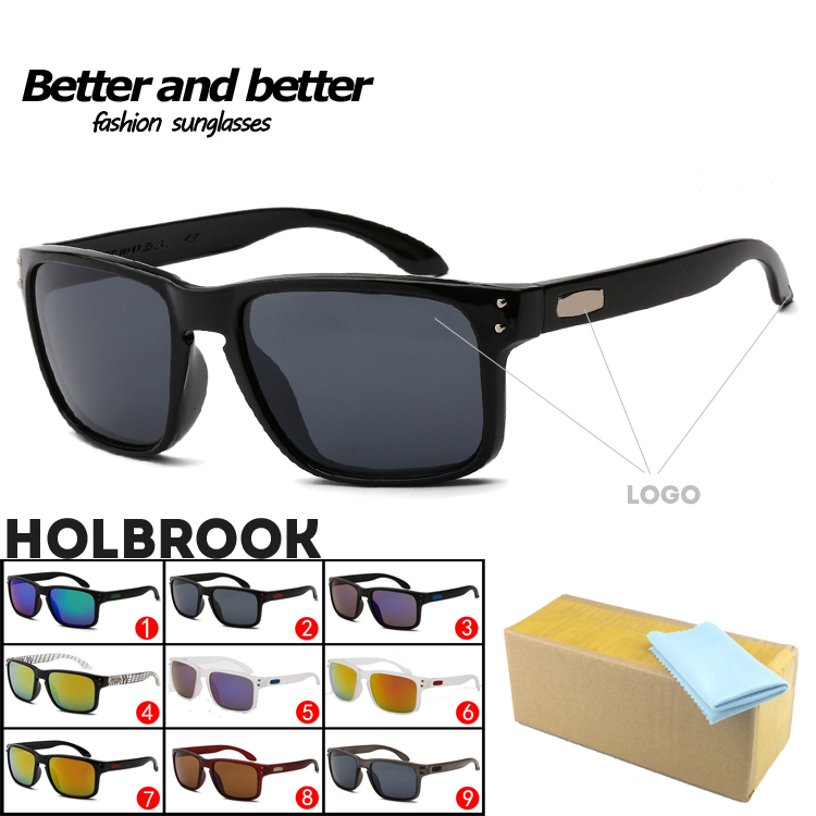 Colorful Sport Sunglasses Famous Brand OAK Design Super quality Holbrook 11 colors UV400 protection New Store Openings(China (Mainland))