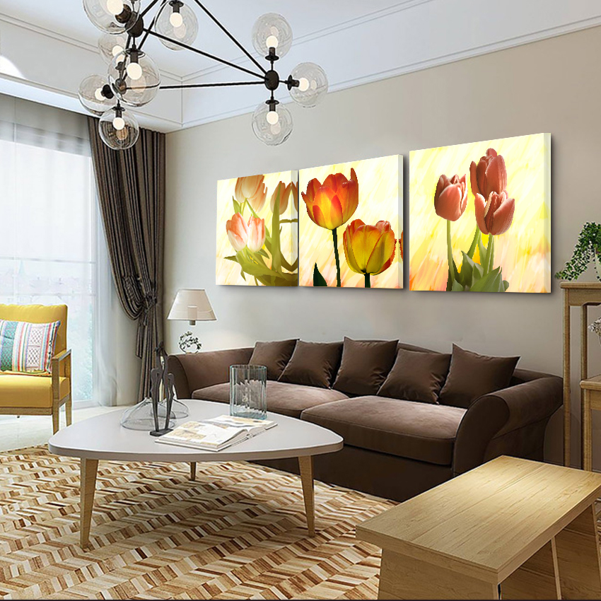 frames canvas painting on the wall art decorative picture living room