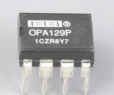 Ultra-low bias current of the differential operational amplifier OPA129P DIP-8(China (Mainland))