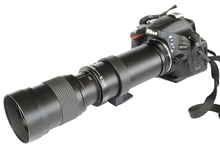 Buy 420-800mm F/8.3-16 Telephoto Zoom Manual Lens+ T2 Adapter Mount Canon Nikon Sony Pentax Olympus DSLR for $95.92 in AliExpress store