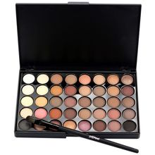 Buy Hot Makeup Eye Shadow 40 Earth Colors Matte Pigment Eyeshadow Palette Cosmetic for $4.01 in AliExpress store