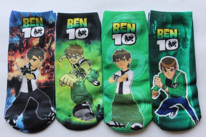 ben10 boys socks children socks for boys cartoon kid socks children chaussette enfants meias meninos  calcetines nino cotton