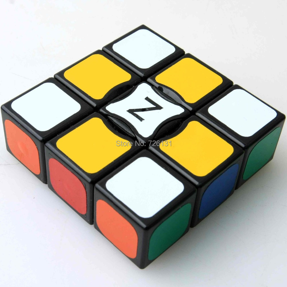 New Black 1x3x3 Magic cube Floppy 1x3x3 Magic cube black Spuer 133 Speed cube(China (Mainland))