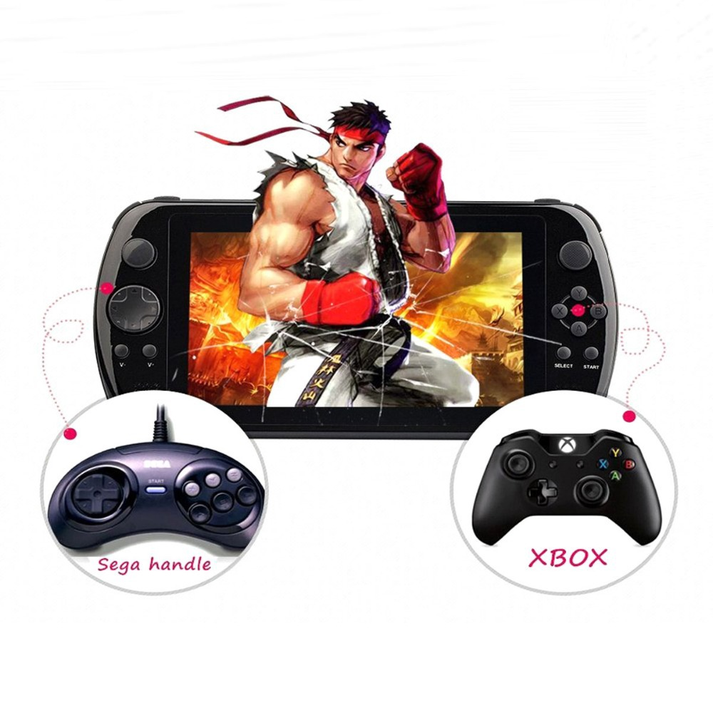 Android 4.4 GPD Q88+ RK3188 Quad Core 7 Inch IPS Capacitive Screen Android PSP Game Console/Handheld Console Tablet PC D3421A(China (Mainland))