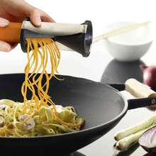 1PCS  Vegetable Spiral Slicer Spirelli Graters Kitchen Spiralizer Julienne Cutter Carrots Gadgets Free Shipping(China (Mainland))
