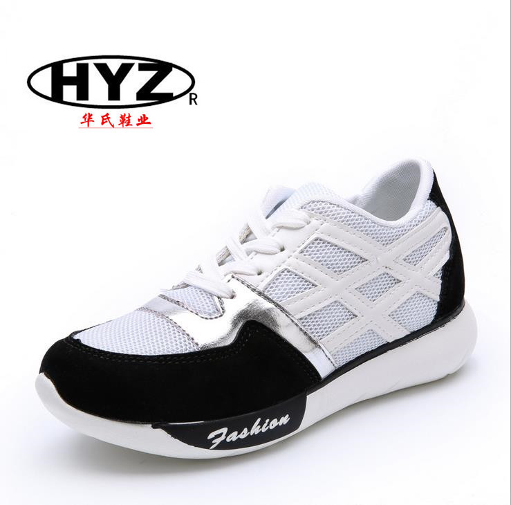 Manufacturer provides straightly the new spring 2015 women sneakers Han edition antiskid shoes Sports shoes(China (Mainland))