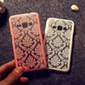 2015 Version Phone Cases For Samsung Galaxy A3 A3000 A5 A5000 Retro Damask Pattern Engraved Matte