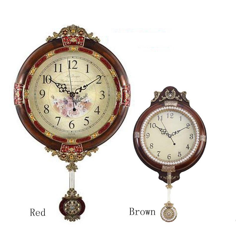 popular antique wooden wall clocks with pendulum buy cheap