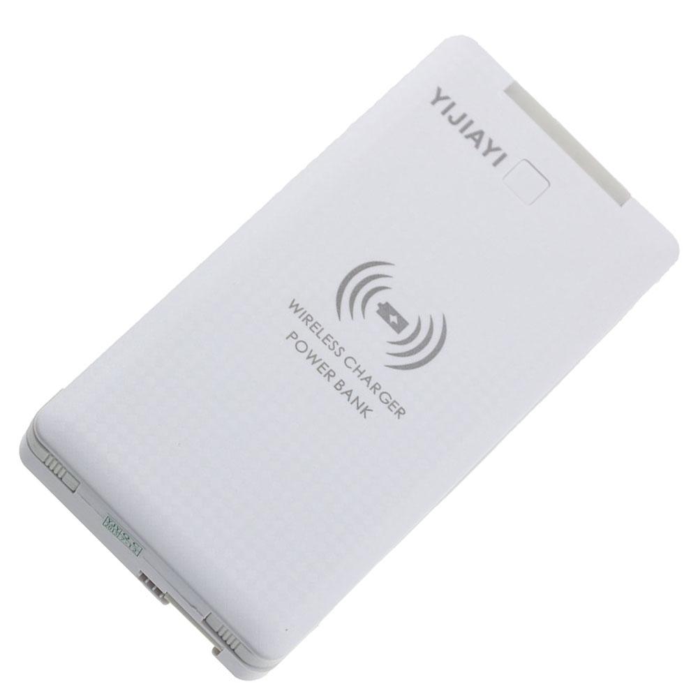 12000mAh Wireless Charger Power Bank Transmitter Dual USB