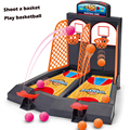 Mini basketball game Table play Toys Family sport home toy balls basketball shooting machines plastic office
