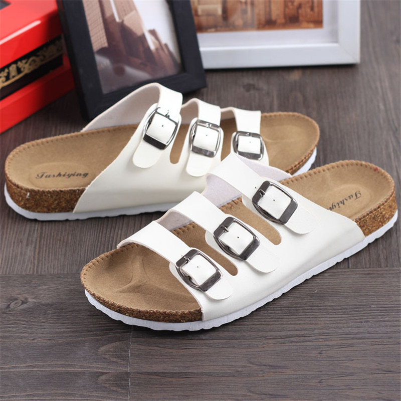 new-unisex-summer-buckle-cork-slipper-sandals-flats-shoes-2016-casual-women-mixed-color-beach-slippers (3)