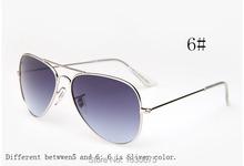 Newest Brand Designer Women Sunglass Fashion Gradient Rimless Sunglasses Frog Mirror Gradient Unisex Sunglasses 6 Color