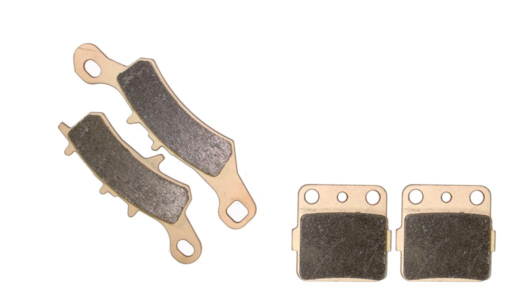 Brake Pad set fit for KAWASAKI Dirt KX100 KX 100 2001 2002 2003 2004 2005 2006 2007 2008 2009 2010 2011 2012 2013 2014 2015(China (Mainland))
