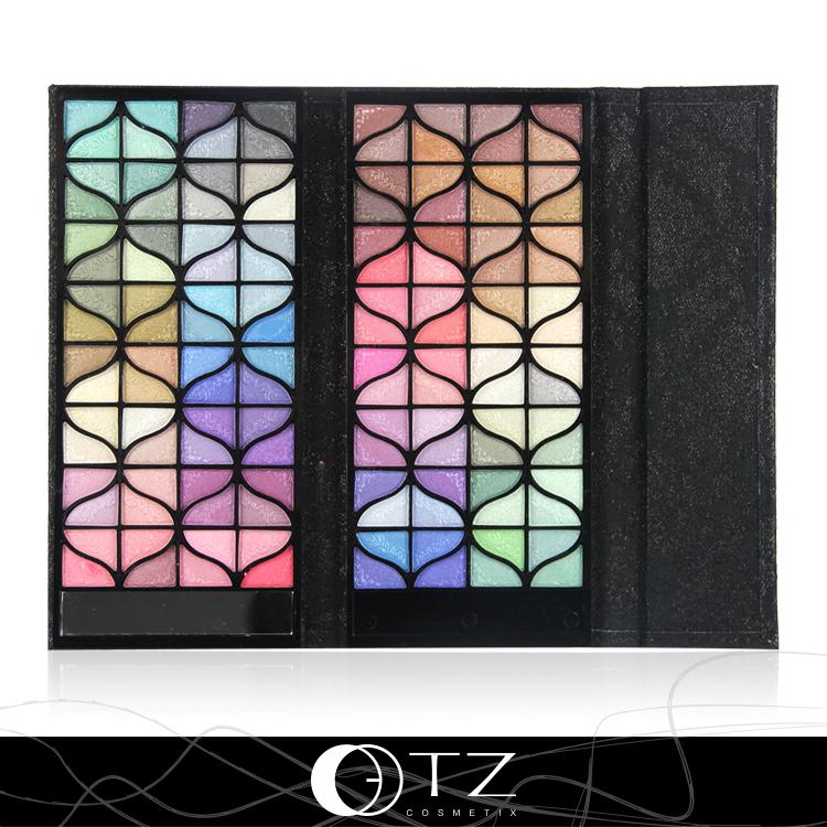 Fanshion Handbag Style Banquet 128 Colors Eye Shadow Kit Easy to Wear Long-lasting High Shimmer(China (Mainland))