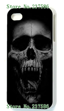 New Arrivals Fashion Style Hybrid Retail Skull White Mobile Phone Hard Cover Cases For IPHONE 5 5s Free Shipping