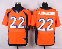 Denver Broncos #88 Demaryius Thomas Elite White Navy Blue Alternate and Orange Team Color high-quality free shipping(China (Mainland))