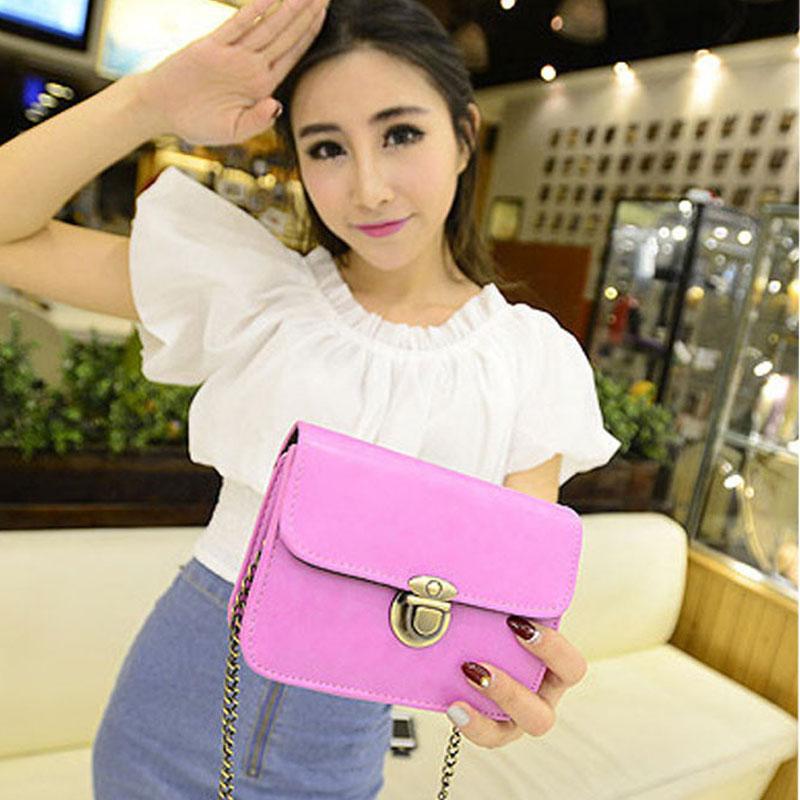 2015 Famous Brand Women Messenger Bags Vintage Female Leather Handbags Fashion Crossbody Tote Shoulder Bag Sac Pochette Bolsos(China (Mainland))