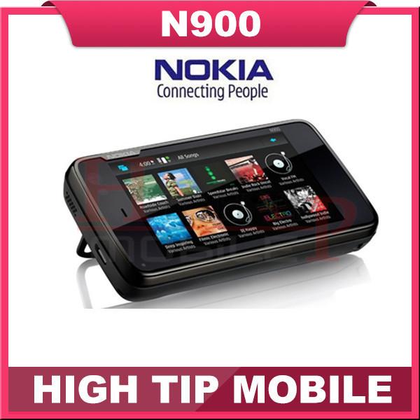 unlocked original Nokia n900 cell phones 3G slider Quadband N900 phone+GPS+WIFI+5MP+1 year warranty free shipping Refurbished(China (Mainland))