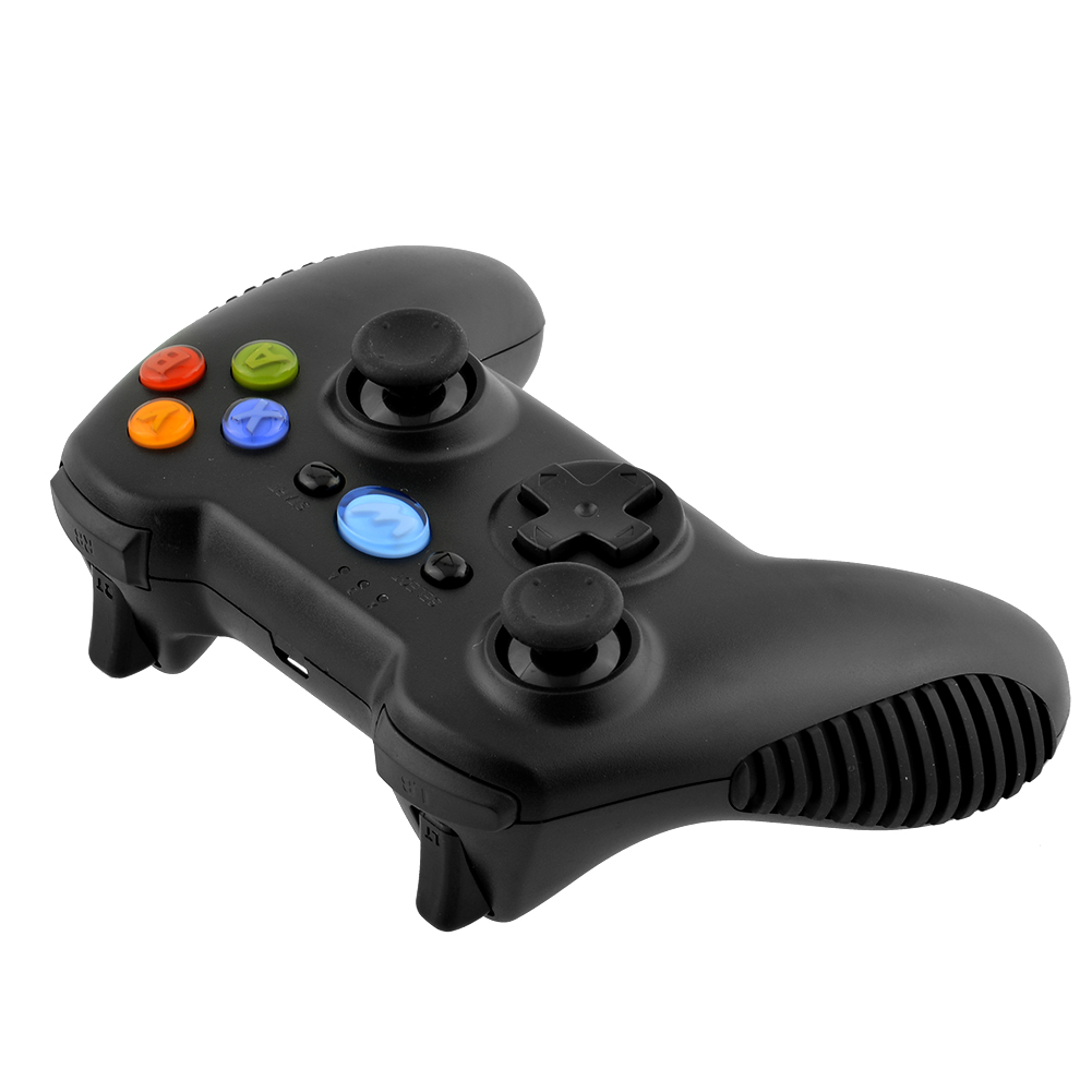 Hot Wireless Bluetooth Controller Gamepad For WAMO for PC for PS3 TV Box Tablet for Android Smartphone Black(China (Mainland))