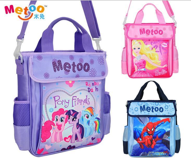 New Design Children My little pony SchoolBag Kids cartoon pricess Messenger Bags Cute Girls handbag High Quality(China (Mainland))