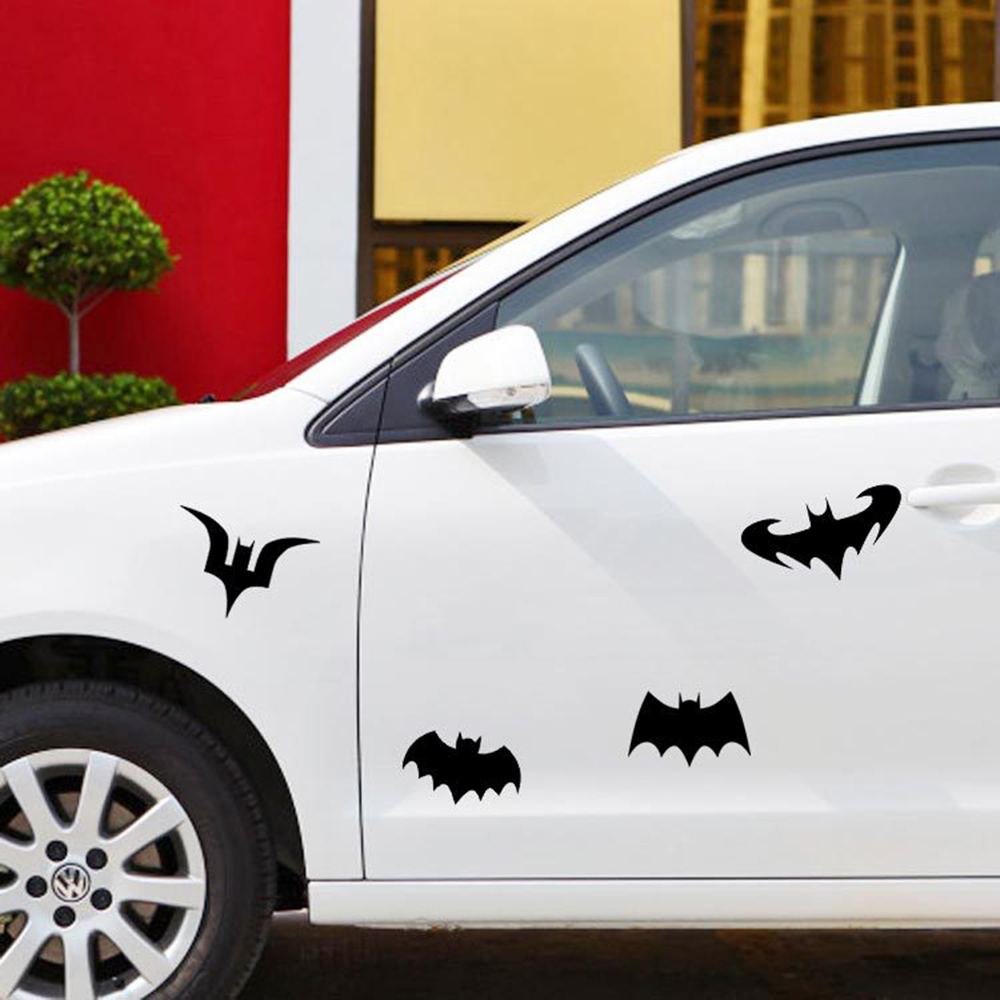 Reflective Car Sticker Variety of Styles Batman Funny Decal For Motorcycle Volkswagen Skoda Golf Polo Ford Focus Fiesta BMW e46(China (Mainland))