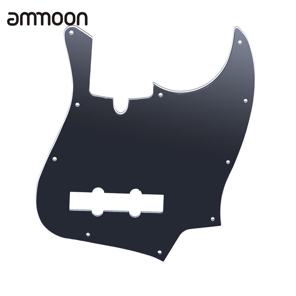 10 Holes JB Bass Pickguard Pick Guards Scratch Plate for Standard Jazz Bass for TAGIMA JB 3Ply PVC Construction(China (Mainland))