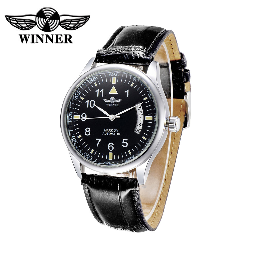aliexpress buy winner black automatic